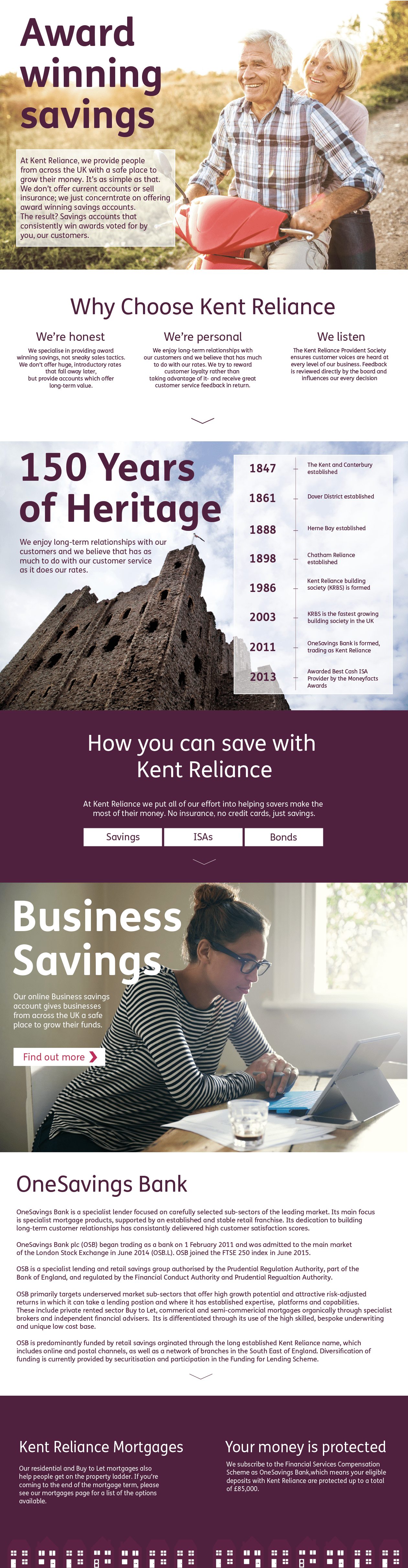 About Kent Reliance
