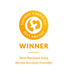 Winner: Savings Champion Best Business Easy Access Account Provider 2019