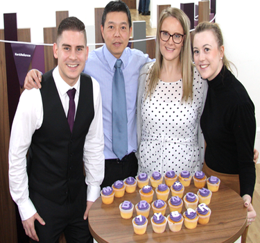 Kent Reliance celebrates 1st anniversary of Maidstone High Street Branch