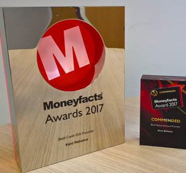We are Moneyfacts' Best Cash ISA Provider 2017