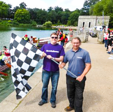 Kent Reliance team paddles to fundraising glory