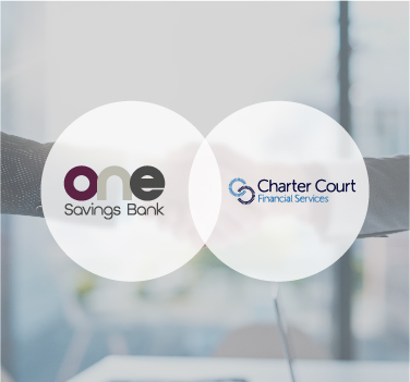 Combination between OneSavings Bank and Charter Court Financial Services